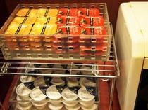 朝食バイキングメイン会場-本館◆ジャム、マーガリンコーナー