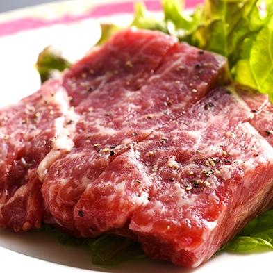 【秋冬旅セール】【ロングステイ】あか牛のステーキ160g&ハーフバイキング【二食付】