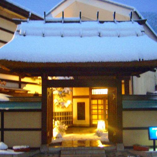 ■夜雪景色