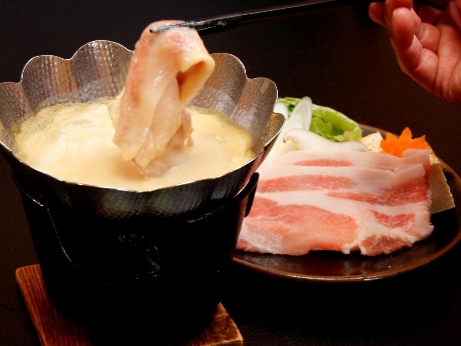 信州吟醸豚の豆乳鍋