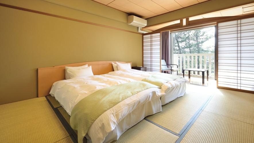 ●【本館和モダン】和室10畳(ツインベッド)