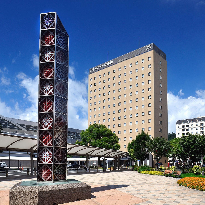 ホテルアービック鹿児島は鹿児島中央駅から徒歩1分