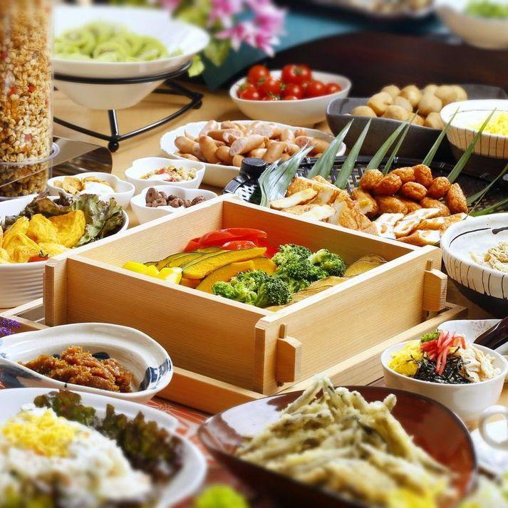 朝食バイキング(2015年4月2日朝より)