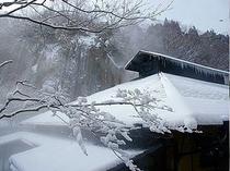 ●雪景色の黒川荘