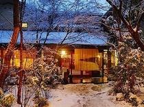 ●雪景色の玄関