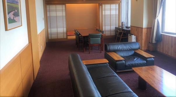 ◆喫煙◆スイートルーム【客室露天風呂付】
