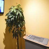 ◆【館内施設】『喫煙ブース』 喫煙所は1階と13階に設置しております。