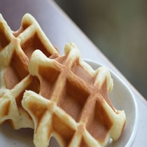 ◆【朝食】食後のデザートに『出来たてワッフル』はいかが♪