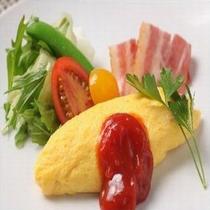 ◆【朝食】人気の卵料理『オムレツ』(イメージ)