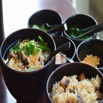◆【朝食】『サンマ飯とサンマ飯のひつまぶし風』