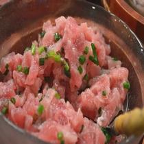 ◆【朝食】『マグロ』(海鮮一例)※イメージ