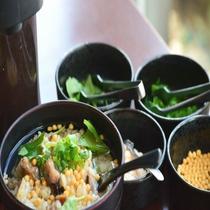 ◆【朝食】『サンマ飯のひつまぶし風』