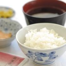 【炊きたてご飯】地元名産の多古米コシヒカリ♪