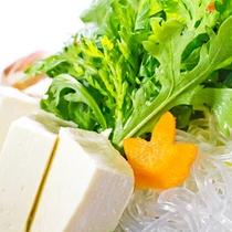 しゃぶしゃぶのお野菜