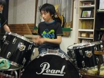ドラムでのひと時!