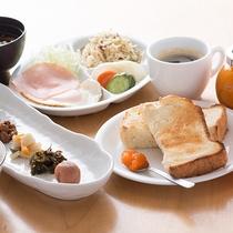 【朝食】真心こめた手づくりメニュー♪