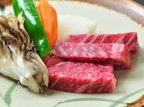 岩手黒毛和牛陶板焼きステーキ単品