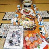 *大皿でどーんと!おまかせ皿鉢料理をご用意いたします(5人前イメージ)