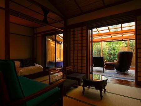 C Type  和室+ベッドルーム+サンルーム+露天風呂