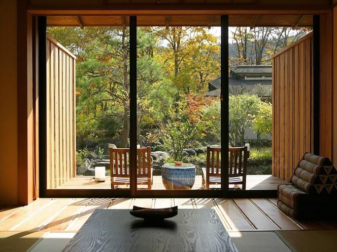 Aタイプ 和室10畳+デッキの和風クラシック