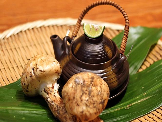 「秋」 国産・松茸プラン 【国産松茸の土瓶蒸し】