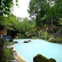 【夏】夏の大野天風呂
