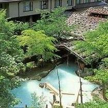 【夏】初夏の大野天風呂と新館