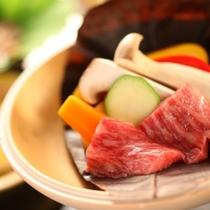 ◇【泡の湯会席】焼物:和牛焙烙焼き