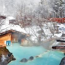 ◇冬の混浴露天アップ