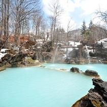 ◇冬の混浴露天風呂