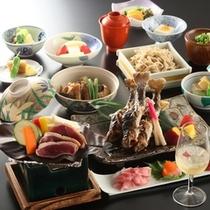 ■「山桜御膳」2014年一例