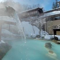 ◇冬の大野天風呂