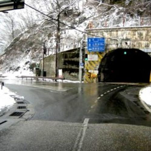 ◇前川渡交差点・左折場所