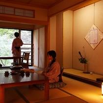 ■新館和室10畳【萌黄】一例