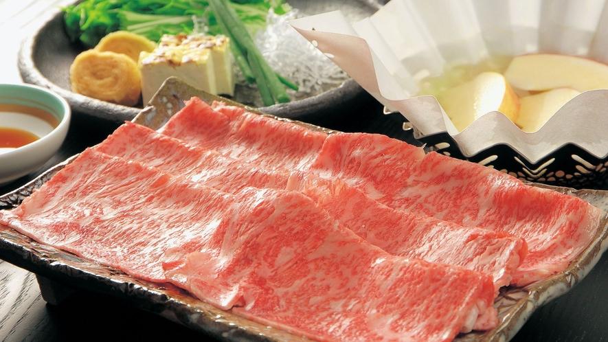 ・【別注料理】和牛しゃぶしゃぶ