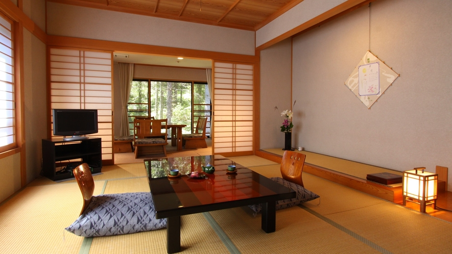 ・【琥珀kohaku】12畳+応接間特別和室
