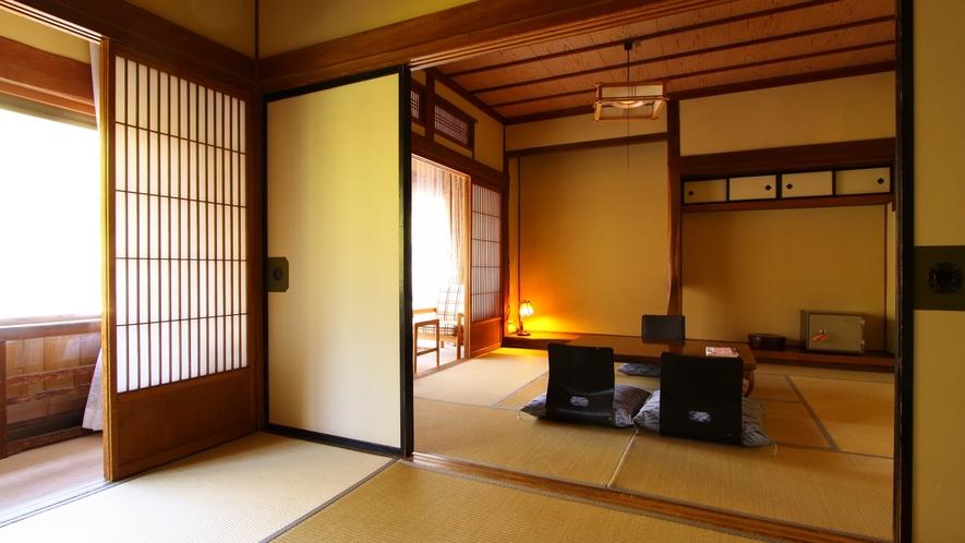 ・【和楽waraku】本館和室二間