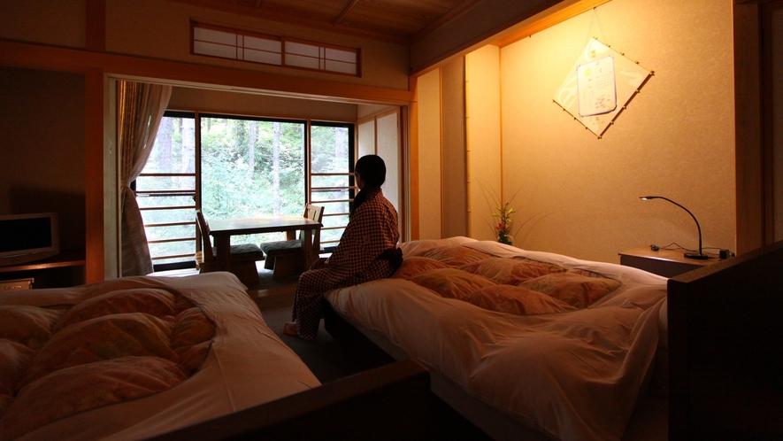 ・【萌黄moegi】ツインベッドルーム
