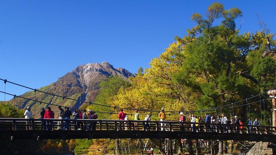 ・秋の河童橋