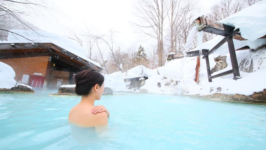 ・【冬】冬の混浴露天