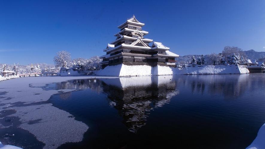 ・冬の松本城