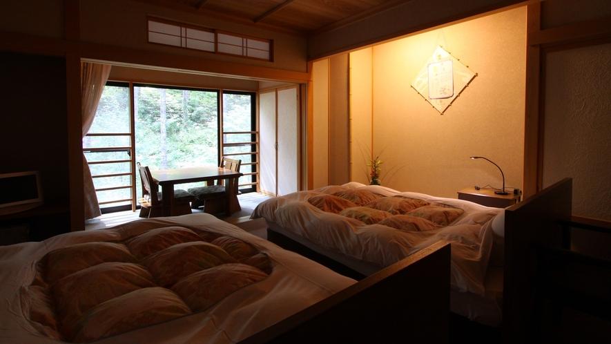 ・【萌黄ベッド】ツインベッドルーム