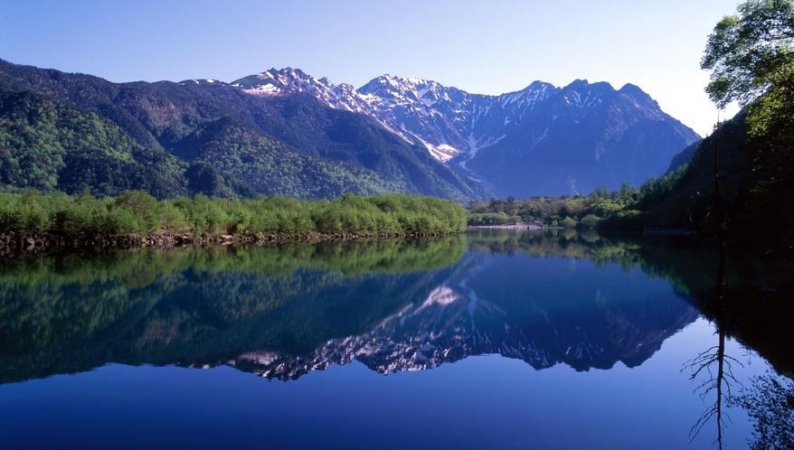 ・上高地と大正池