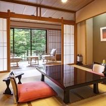【西館】庭園露天風呂付客室