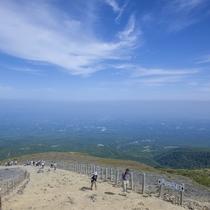 日本百名山のひとつの茶臼岳