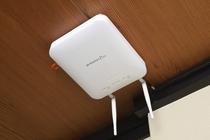全館にWi-Fiを設置。ご滞在中も快適にスマホやPC等をご利用いただけます。お気軽にご利用ください。