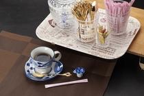 朝食付きプランのお客様には、朝食にコーヒーのサービスがございます。香り高いコーヒーをご堪能ください。