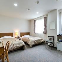 ◇明るく清潔な空間のツインルーム