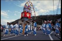 川奈 秋祭り万灯
