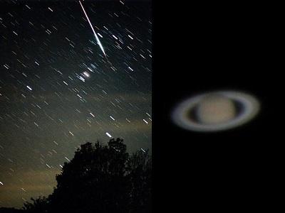 流星群と星空観察会♪